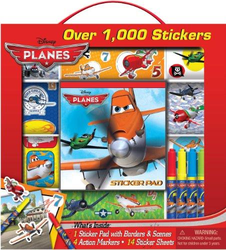 Bendon Disney Planes Sticker Box with Handle Activity Set
