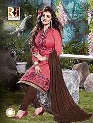 Leranath Fashion House Women'S Aesha Takiya Pink Color Dress