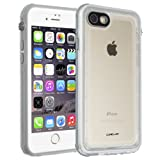 CellEver iPhone 7/8 Case Waterproof Shockproof IP68 Certified SandProof Snowproof Full Body Protective Cover Fits Apple iPhone 7 and iPhone 8 (4.7