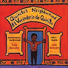 Quinito's Neighborhood/El Vencindario de Quinito (       UNABRIDGED) by Ina Cumpiano Narrated by Jonathan Davis