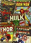 Marvel Comic Book Covers A5 Notebook