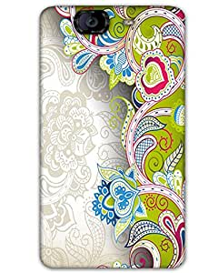 Webplaza Micromax Canvas Knight A350back cover Designer High Quality Premium Matte Finish 3D Case