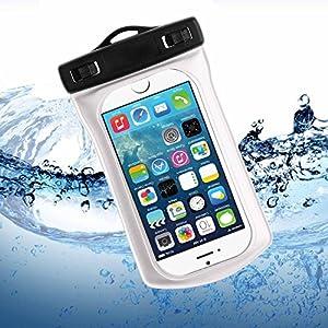 Bingsale Apple iphone 5S 5C 5 Wasserdichte Schutzetui Schutzhülle Case Tasche Hülle - Silicon Protector Schutzhülle weiß