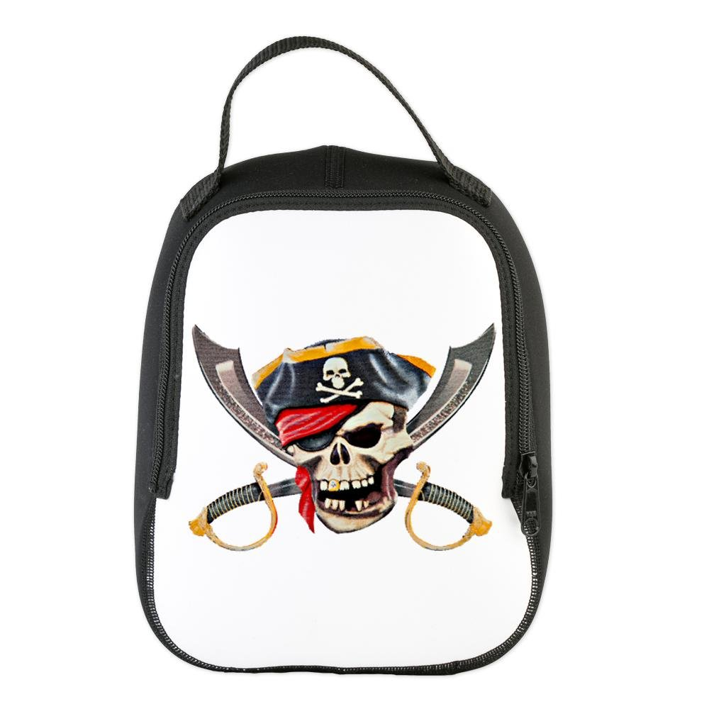 neoprene-lunch-bag-pirate-skull-eyepatch-gold-tooth