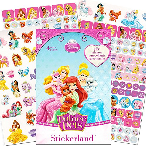 Disney Princess Palace Pets Stickerland Reward Stickers 295 ct