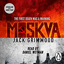 Moskva Audiobook by Jack Grimwood Narrated by Daniel Weyman