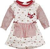 Schnizler Teddy Bear-vestido Bebé-Niños    Rojo rosso 18 meses