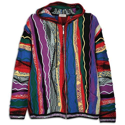 Buy Coogi Men's Panel 1 Hooded Sweater