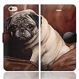 [iPhone6S 6 兼用 手帳型 ケース カバー スタンド付] WANKO F