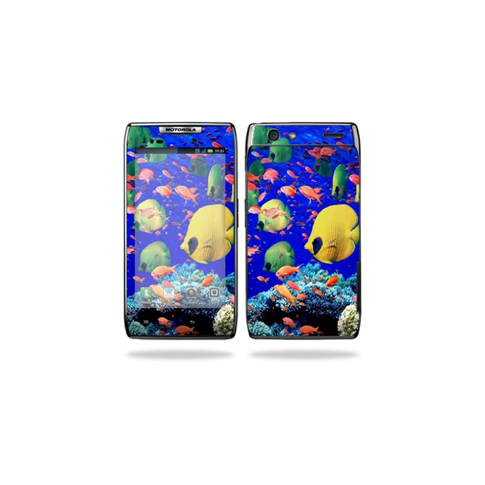 Protective Vinyl Skin Decal Cover for Motorola Droid Razr Maxx Android Smart Cell Phone Sticker Skins   Under the Sea