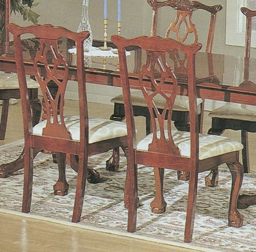 Chippendale Style Side Chair (set Of 2) (Chippendale Side Chair compare prices)