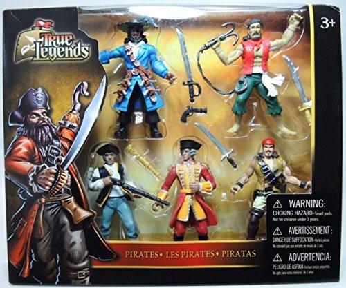 True Legends 5-pack of 4 inch Pirate Figures