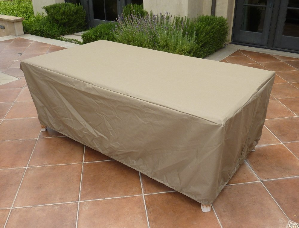 "formosacovers Rectangular or Oval Table Cover 84""L X 44""W X 25""H at Sears.com"