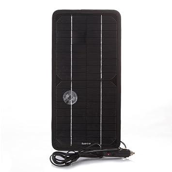 ecaab9f2e43809 Koolertron-8,5W 12V Caricatore Caricabatterie Solare di Batteria ...