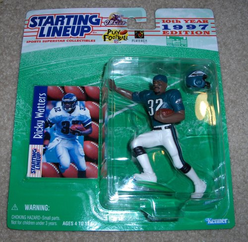 1997 Ricky Watters NFL Starting Lineup Figure [Toy] - 1