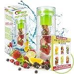 Fruit Infuser Water Bottle BPA Free,...