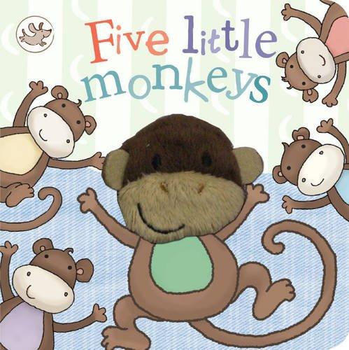 Five Little Monkeys (Little Learners Finger Puppet Book) (Little Learners Finger Puppets)