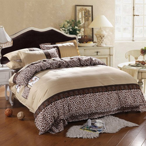Leopard Sheets King front-1028610