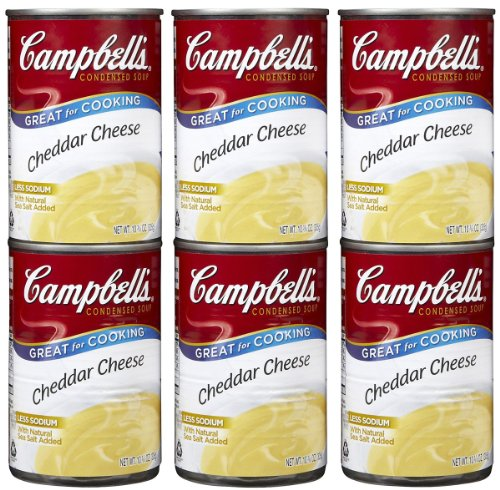 Campbell's Cheddar Cheese Soup, 10.75 oz, 6 pk (Condensed Cheddar Soup compare prices)