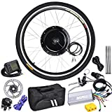 "48V1000W 26"" Front Wheel Electric Bicycle LCD Display Motor E-Bike Conversion"