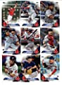 2016 Topps Baseball Series 1 Boston Red Sox Team Set of 12 Cards: Rusney Castillo(#75), Clay Buchholz(#77), Mookie Betts(#84), Koji Uehara(#90), Henry Owens(#109), Brian Johnson(#191), Dustin Pedroia(#246), Ryan Hanigan(#260), Brock Holt(#280), Pablo Sand