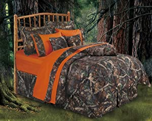 Oak Camo Comforter Set Queen Home Kitchen