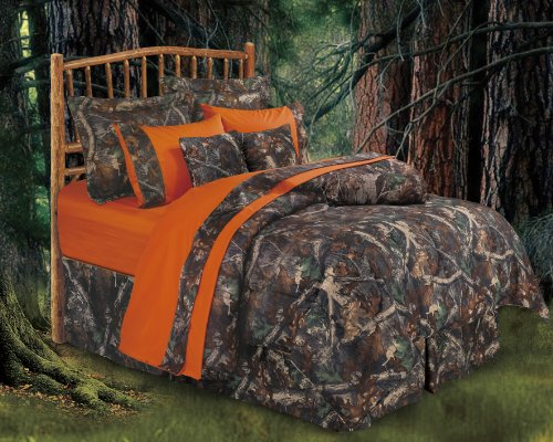 Oak Camo Comforter Set, King