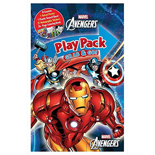 Marvel Avengers Playpack Activity Set (Each)