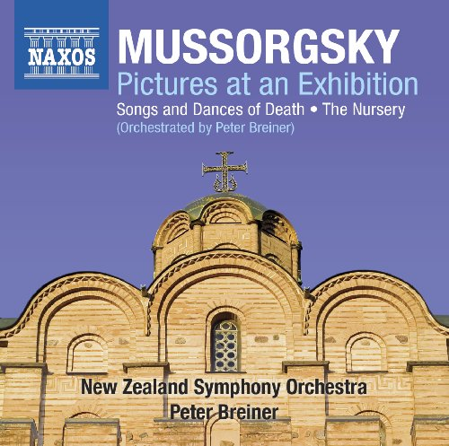 Mussorgsky: Pictures At An Exhibition - Songs & Dances Of Death - The Nursery (Orchestrated By Peter Breiner) front-1042357