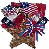 Art of Appreciation Gift Baskets American All Star Patriotic Gourmet Food Summer Gift Set