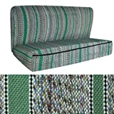 OxGord Saddle Blanket Full Size Truck Bench Seat Cover for Ford, Chevy, GMC, and Dodge Trucks, Green