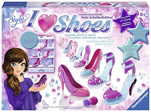 Ravensburger 18535 - So Styly I Love Shoes Scarpe da Decorare