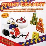 RC Remote Control wheelchair grandma STUNT GRANNY wheel chair Toy