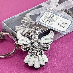 Angel Design Keychain Favors