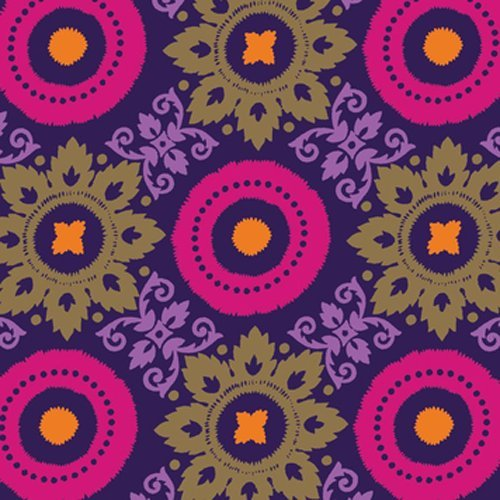 The Gift Wrap Company Fashion Collection Deluxe Quality Gift Wrap Roll, Persian Medallions front-539337