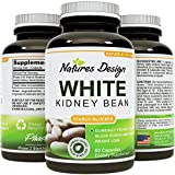 White Kidney Bean Extract- 100% Effective and Optimized for Weight Loss - Carb Blocker and Prevents Fat From Forming - Guaranteed By Natures Design