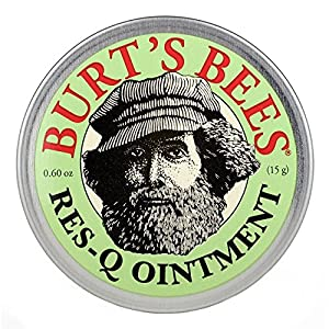 Burt's Bees Res-Q Ointment, 0.6 Ounces (Pack of 3)
