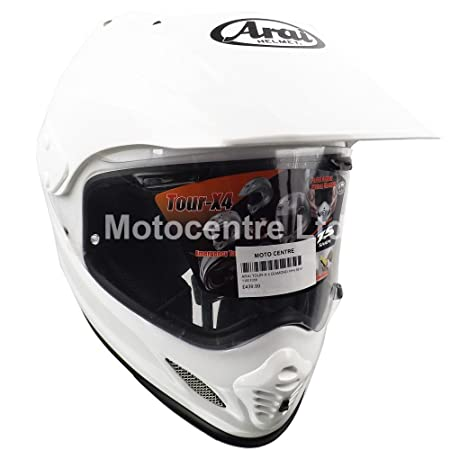 Nouveau 2015 ARAI TOUR-X 4 le casque de moto solide en blanc métallique