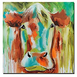 Misty Pasture by Amanda Brooks Premium Gallery-Wrapped Canvas Giclee Art (Ready-to-Hang)