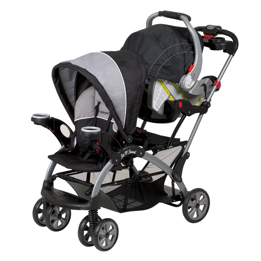 Baby Trend Sit N Stand Ultra Tandem Stroller Phantom