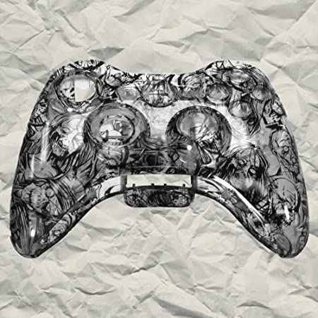 Clear Zombie XBOX 360 Controller Shell | Controller Mod