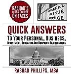 Rashad's Quick Course on Taxes | Rashad Phillips MBA
