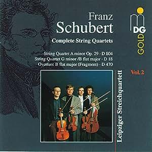 Schubert:  String Quartet No.