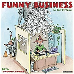 Funny Business 2016 Wall Calendar by Willow Creek Press by Willow Creek