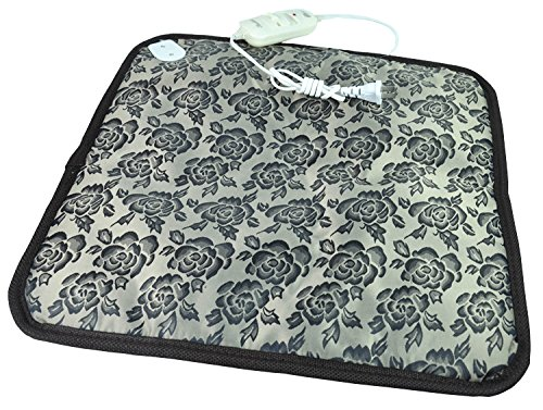 Namsan Safe Pet Dog Cat Bed Electric Heating Blanket, Waterproof Mat, Winter Warm Pad Grey