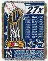 MLB New York Yankees Commemorative Acrylic Tapestry Throw Blanket