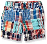 The Children's Place Boys' Patchwork Shorts, Captain Navy, 18-24 Months