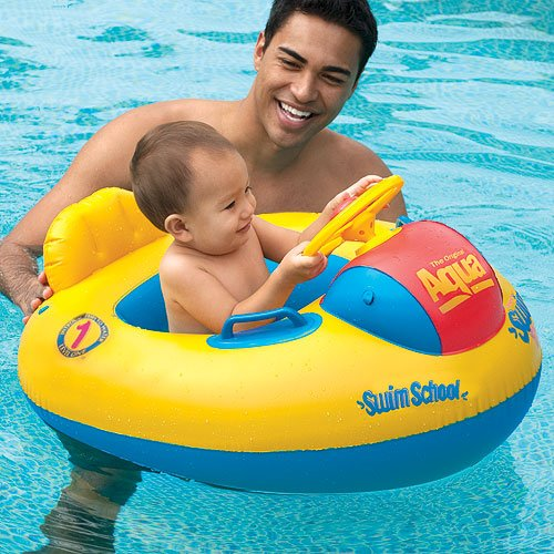 Swim School Baby Float - Deluxe Toddler Racer
