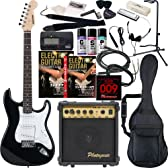 SELDER エレキギター ストラトキャスタータイプ ST-16 初心者入門20点セット /ブラック(9707001000)