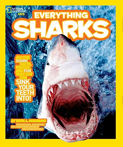 National Geographic Kids Everything Sharks: All the shark facts, photos, and fun that you can sink your teeth into (Shark Fact Book compare prices)